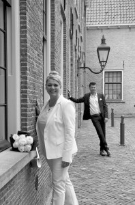 Intieme bruidsreportage Hans & Moon in Kasteel Woerden.