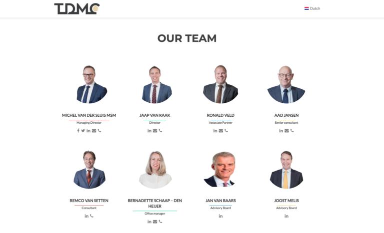 TDMC portretfoto's in de fotostudio