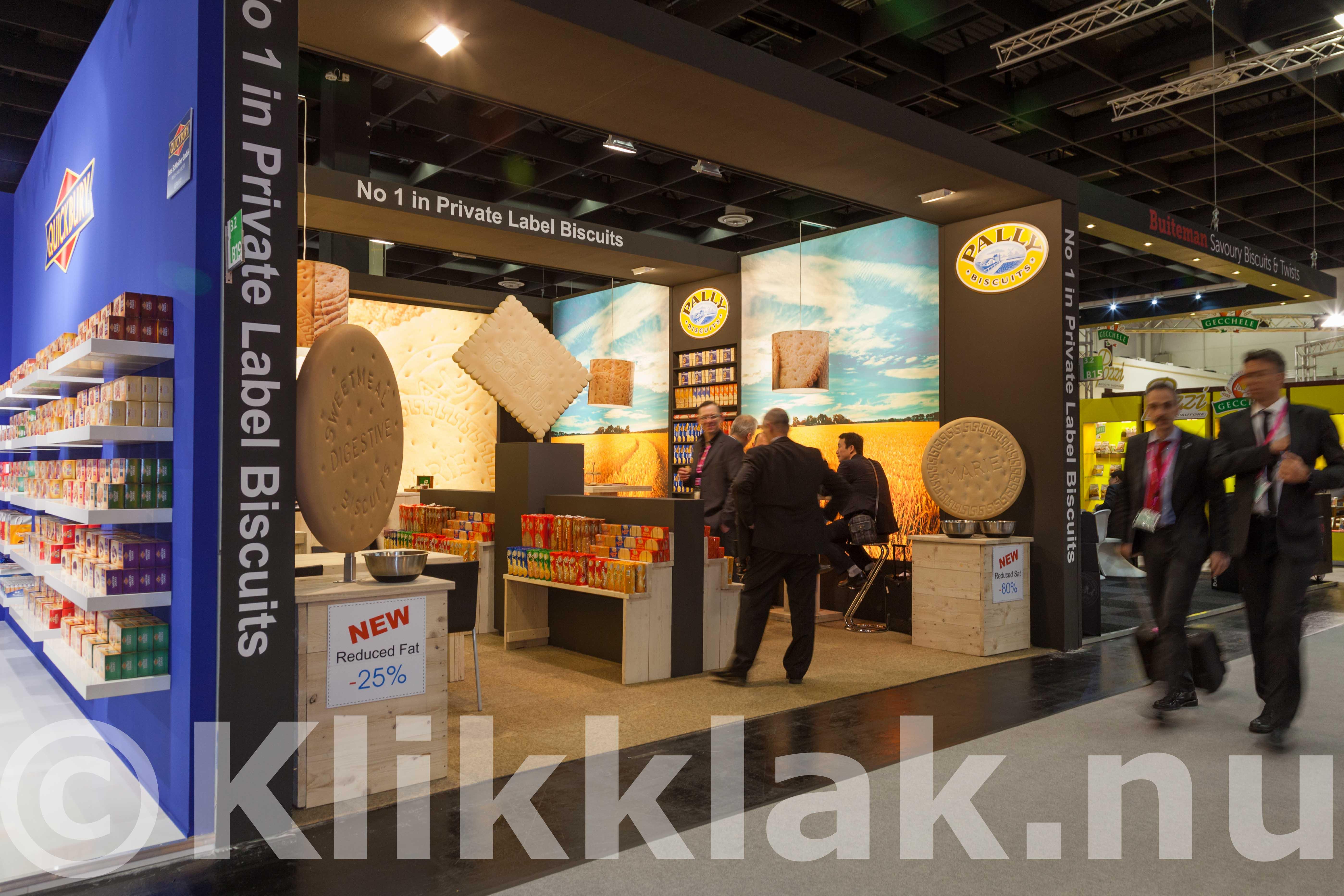 ISM zoetwarenbeurs stands Keulen 2015 Pally