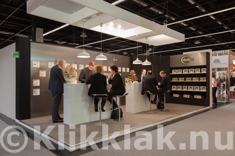 ISM zoetwarenbeurs stands Keulen 2015 Dobla