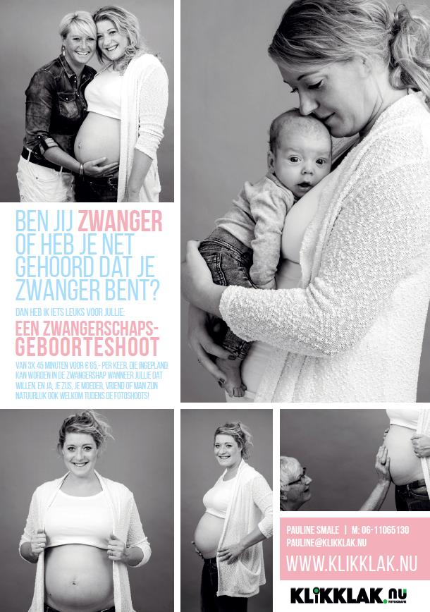 Zwangerschapsfoto's & newbornshoot