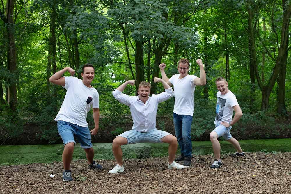 familie fotoshoot op locatie Nieuw-Lekkerland
