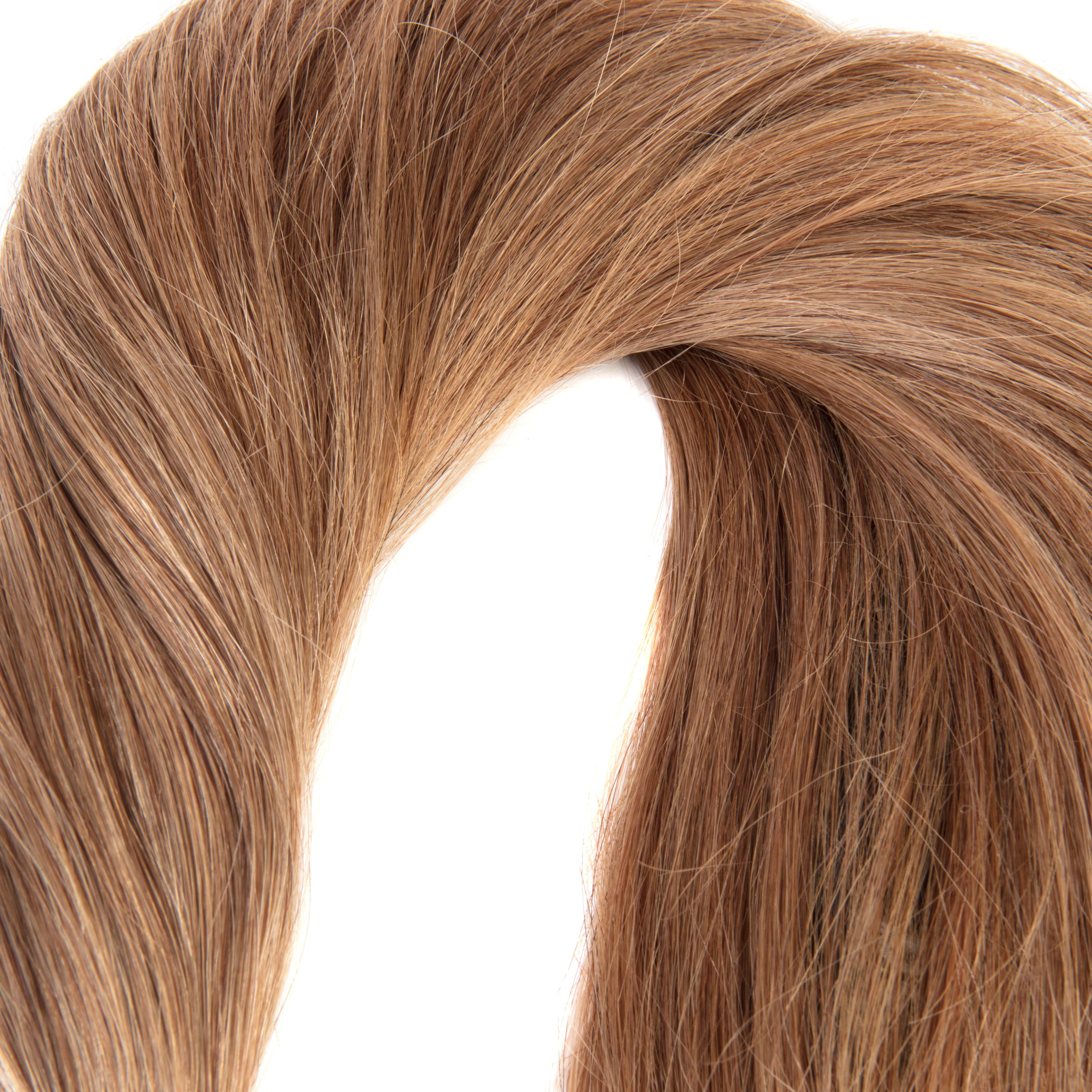 hairextensions productfotografie bestemd voor webshop kleur 12 Remy