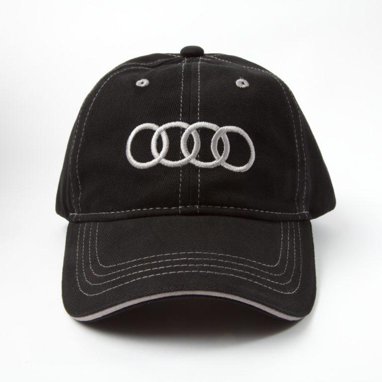 Zwarte Audi cap