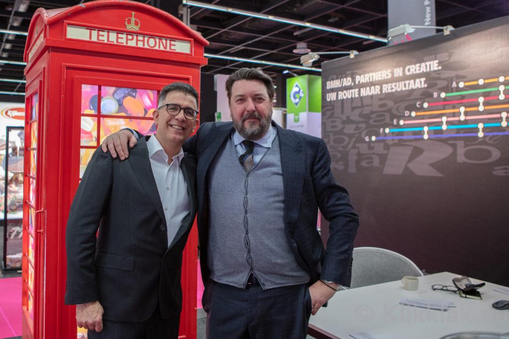 Op de stand van BMH/AD op de ISM 2019 in Köln. Gebouwd door Salut Expo.