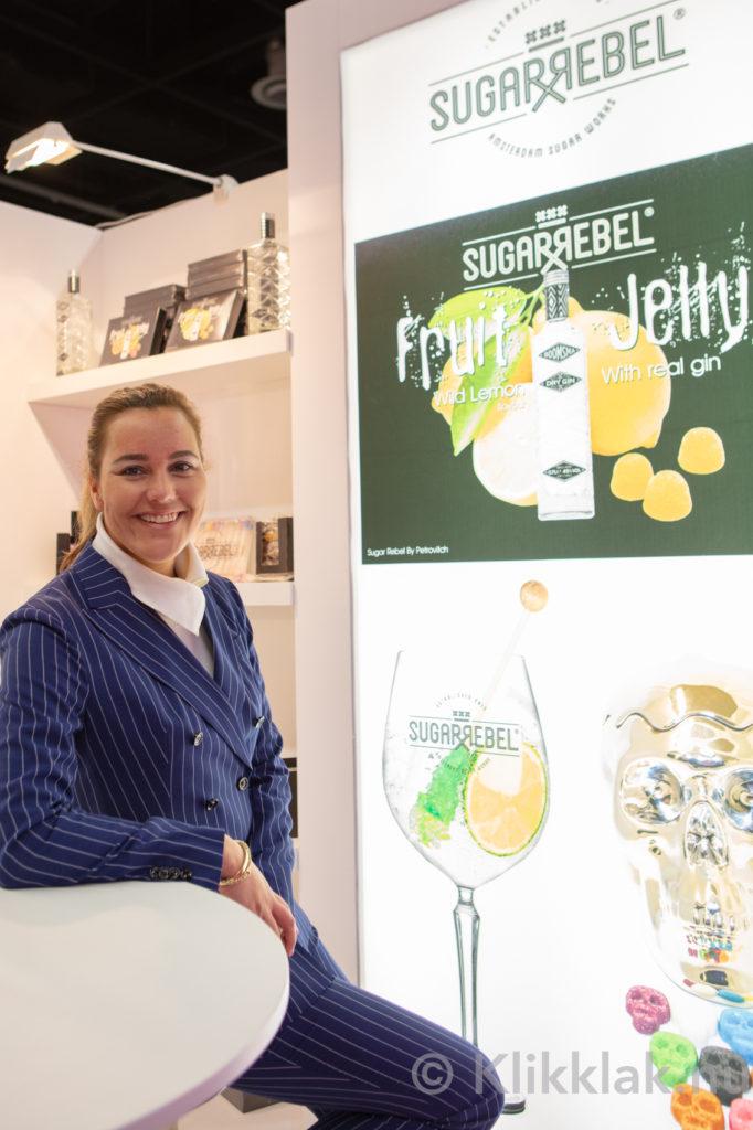 Op de stand van Petrovitch op de ISM 2019 in Köln. Gebouwd door Salut Expo.