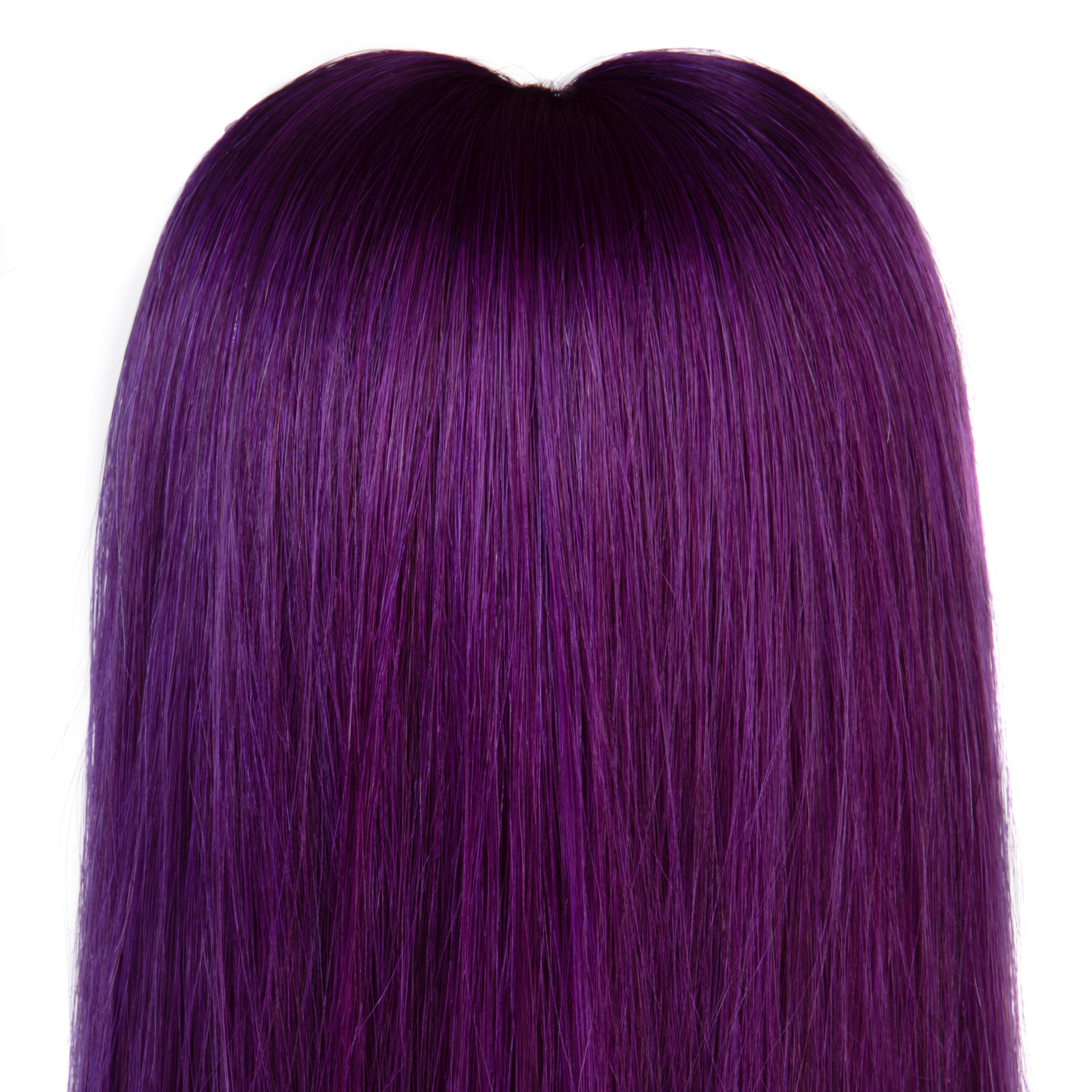 hairextensions productfotografie bestemd voor webshop kleur Lila