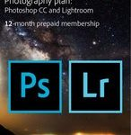 Adobe Creative Cloud Photography Plan- Student & Docent Editie - 1 Apparaat - 1 Jaar - 20GB Cloudopslag - Nederlands : Engels - Windows : Mac Download