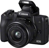 Canon EOS M50 + 15-45mm IS STM - Zwart