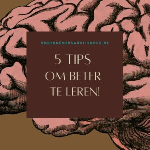 5 tips om beter te leren