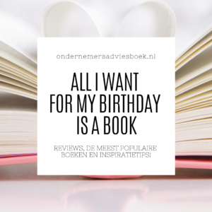 all i want for my birthday is a book