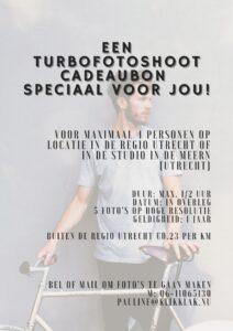 Turbofotoshoot voor 4 mensen in de studio of op locatie in Utrecht